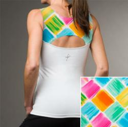 ladies fashion yoga top